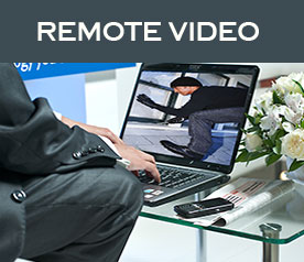 remote video via internet connection
